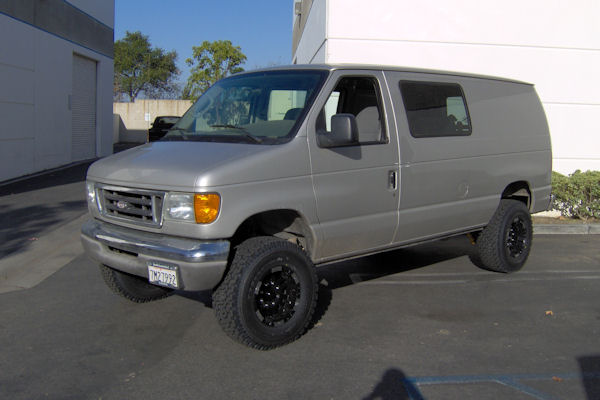 Action Van Suspension Photo Gallery Ford Van Lift Kits