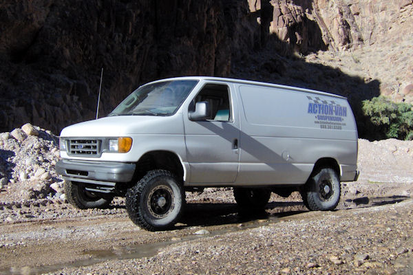 Action Van Suspension - Photo Gallery - Ford van lift kits