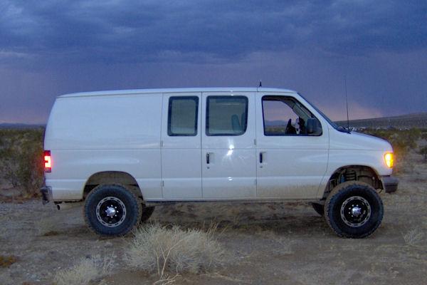 action van suspension we make driving a van fun again ford van lift kits. Black Bedroom Furniture Sets. Home Design Ideas